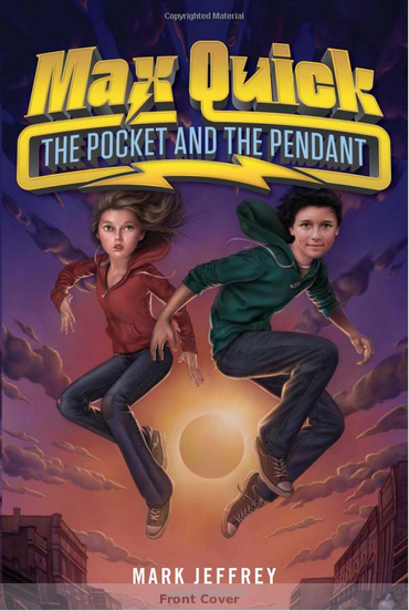 Max Quick: The Pocket and the Pendant cover from Harper Collins