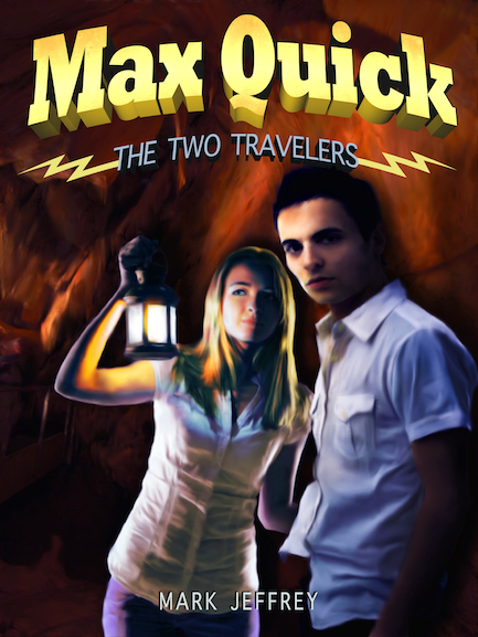 Max Quick: The Two Travelers ebook cover