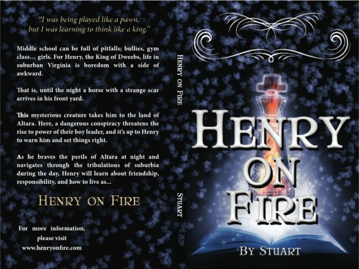 Henry on Fire, print cover