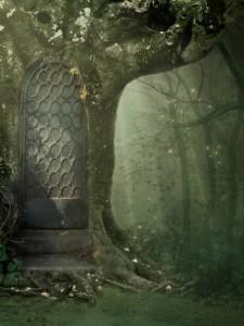 Fantasy tree background image